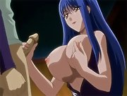Brother fills horny anime sister with huge load of cum